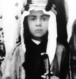 صورة الملك عبدالله في طفوته