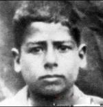 صورة صدام حسين في طفولته