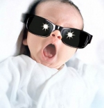 صورة لطفل مضحكة