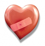 صورة قلب مجروح
