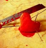 صورة قلب جريح