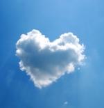 صورة قلب من السحاب