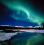 صورة نادرة للشفق القطبي
