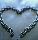 صورة قلب من السلاسل