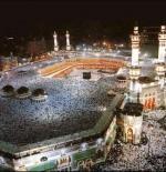 صورة للمسجد الحرام ليلاً