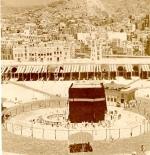 صورة قديمة جداً لمكة