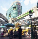 BANGKOK, THAILAND – Erawan shrine