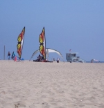 Kites in Santa Monica