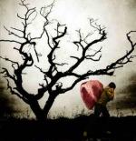 صورة رجل يحمل قلب