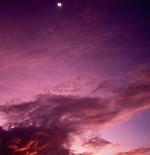 صورة لبداية شروق الشمس