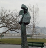 Statue of Sissy in Geneva