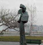 Statue of Sissy in Geneva