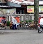 Trishaws in Cihapit Bandung