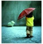 صورة طفل وحيد