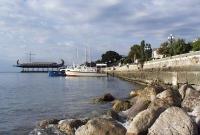 شاطئ يالطا البحر الأسود