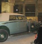 صورة لسيارات الملك عبد العزيز