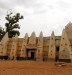 صورة مسجد في غانا