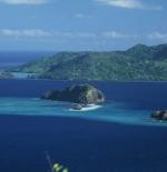 منظر من الجزيرة