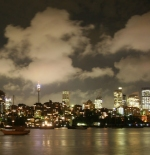 Sydney from Rushcutters Bay