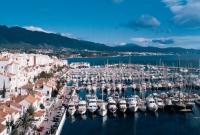 صورة لميناء