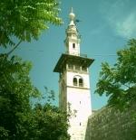 المنارة الشمالية للمسجد الأموي بدمشق