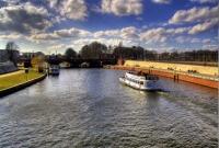 نهر في مدينة هانوفر