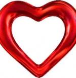 صورة قلب أحمر