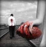 صورة قلب منزوع