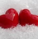 صورة قلبان رائعان