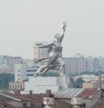 تمثال في موسكو