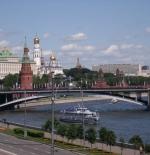 جانب من مدينة موسكو