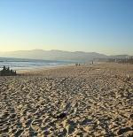 شاطئ سانتا مونيكا