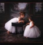 صورة لطفلتان جميلتان