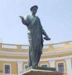 Ivan Martos's statue of Duc de Richelieu in Odessa