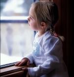 صورة لتأمل طفلة