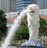 تمثال لاسد ميرليون في سنغافورة