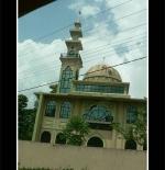 مسجد بأحد القرى الواقعه بين العاصمة كولومبو ودامبلا