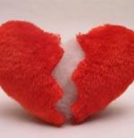 صورة قلب من القماش