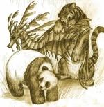 صورة حيوانات الغابة