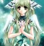 صورة الشابة الملاك