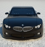 سيارة سوداء بي ام