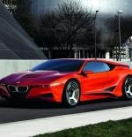سيارة حمراء كلاسيكية