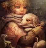 صورة طفلة شقراء