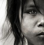 صورة الطفلة السمراء الجميلة