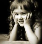 صورة طفلة دلوعة