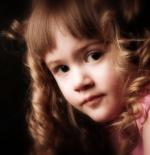 صورة طفلة امورة