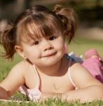 صورة الطفلة الصغيرة