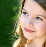 صورة الطفلة الرائعة جدا