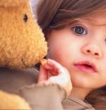 صورة الطفلة الصغيرة الجذابة