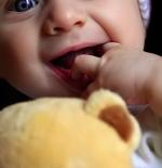 صورة طفل ودب